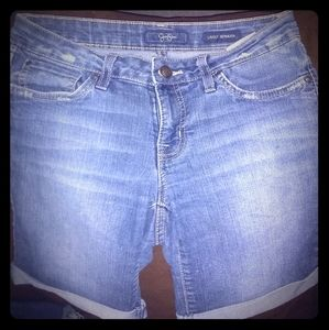Jessica Simpson Rolled Bottom Shorts